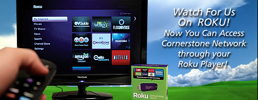 Watch For Us On Roku!