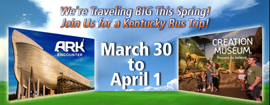 Travel With Us!  Kentucky Trip