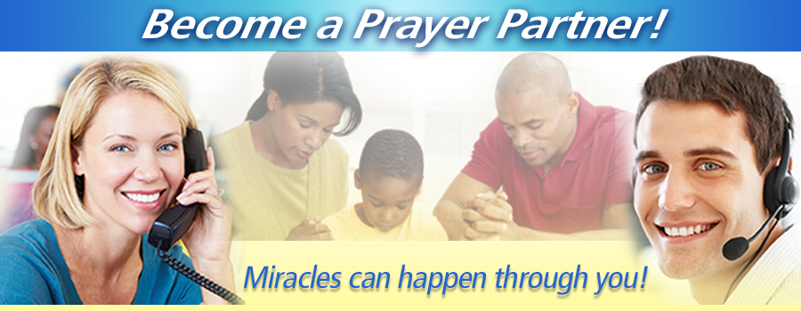 Become a Prayer Partner